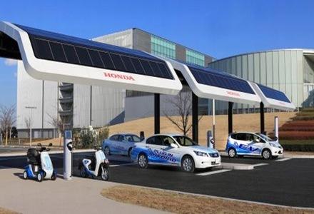 estaciones-de-carga-EV-con-energía-solar