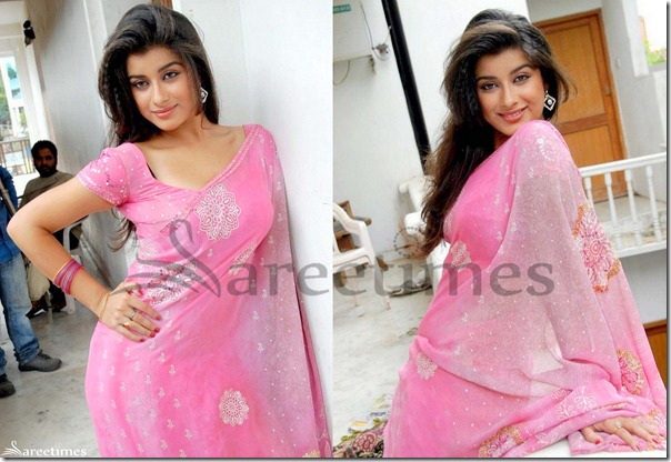 Madhurima_Georgette_Saree