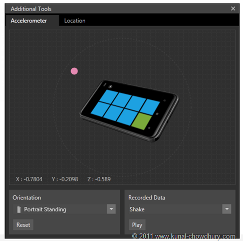 WP7.1 Demo - Accelerometer - Virtual Movement with the Pointer[3]