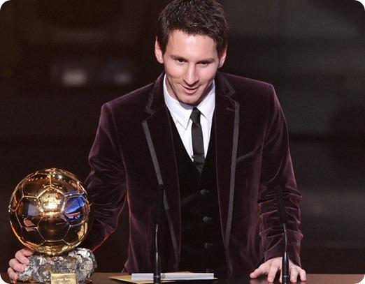 Messi Bola de Ouro 2011