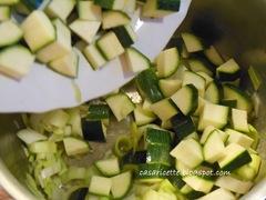 cdr zuppa di zucchine e funghi, zucchine