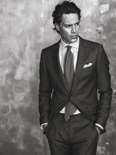 Andre Van Noord by Tobias Lundqvist for The Tailoring Club F/W 2011