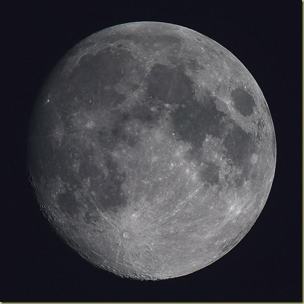 27 October 2012 Moon