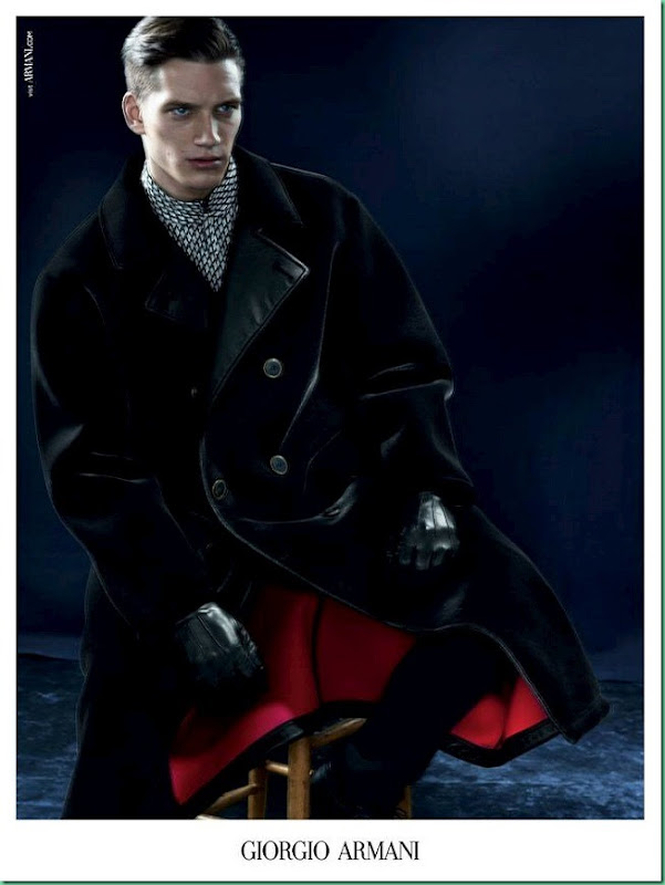 Florian Van Bael for Giorgio Armani FW 13 – More Images