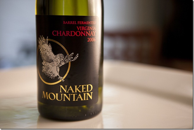2006 Naked Mountain Barrel Fermented Virginia Chardonnay-2