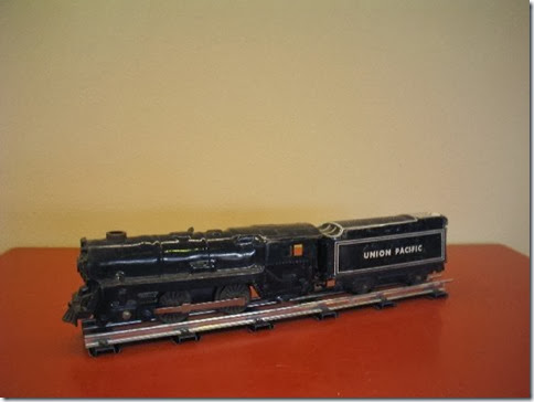 Marx #591 Locomotive with 6-inch Notch Tender