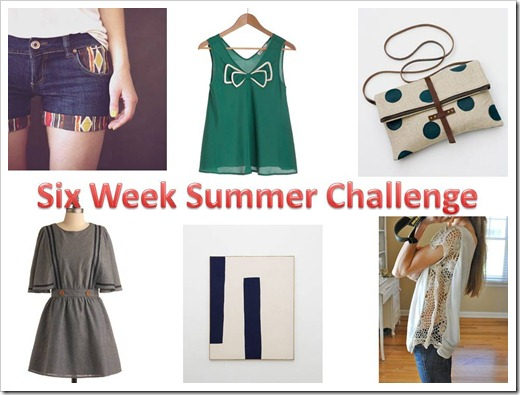 six week summer challenge