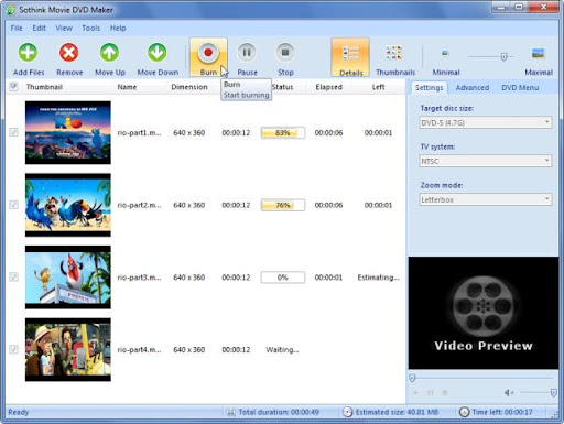 Descargar Sothink Movie DVD Maker gratis