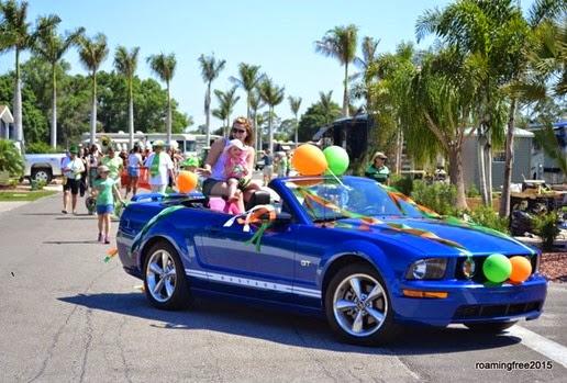 Every parade needs a Mustang Convertible!
