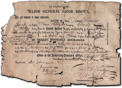Heavy use threatens to destroy fragile pension documents from the War of 1812