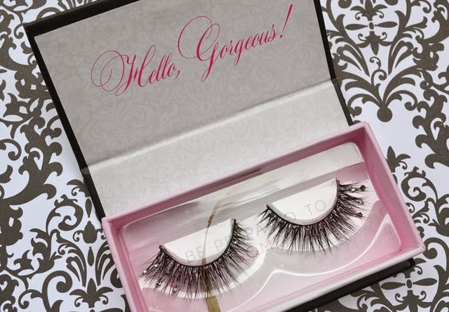 Femme Fatale Lashes in A Girls Best Friend Look Review (2)