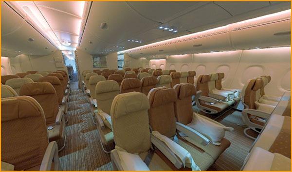 صور ايرباص 380 من الداخل15
