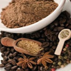 Star Anise and Coffee Bean Rub