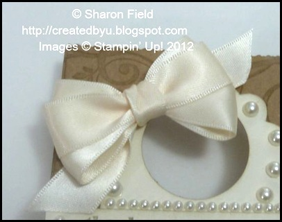 lovely loopy bow tied with double loop bow technique from my tutorial