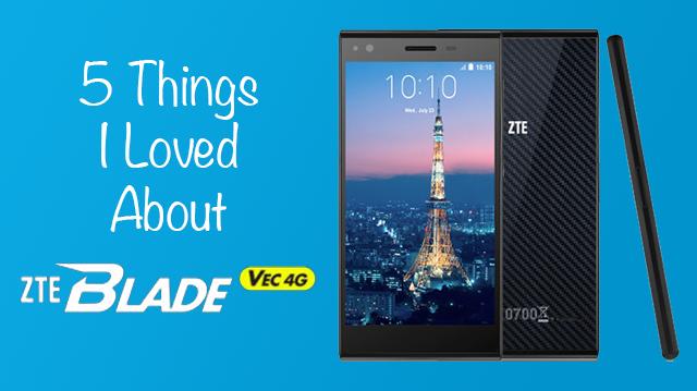 ZTE Blade Vec 4G Banner