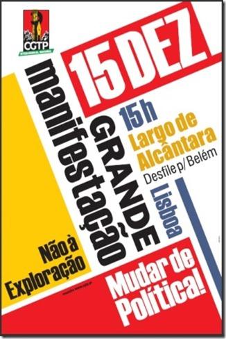 Convocatoria CGTP.Dez.2012