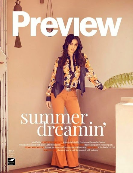 Julia Barretto - Preview March 2015 digital cover