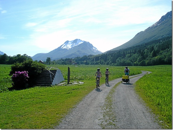 Sykkeltur til Sæbø pinsa 09 054