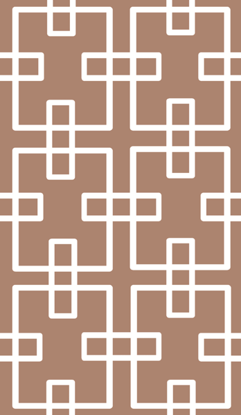 Taped Wall Pattern