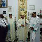 Celebração na Basílica Nossa Senhora da Conceição da Praia
