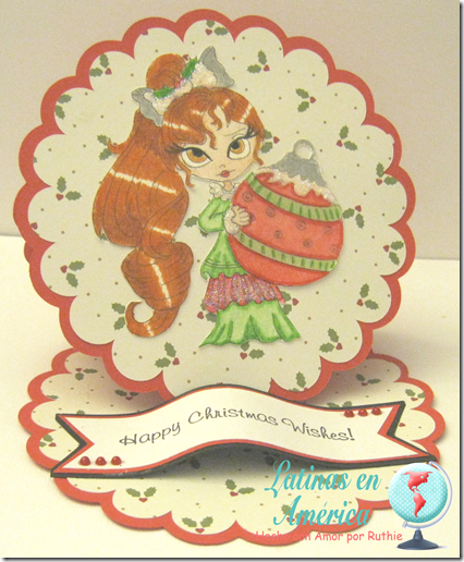 Lucy Sunshine Digital stamps - Isabella Christmas Ornament digi - Latinas en America - Ruthie Lopez - My Hobby = My Art 3