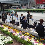 school girls in Shibuya, Tokyo, Japan