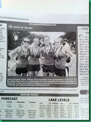 Newpaper warrior dash