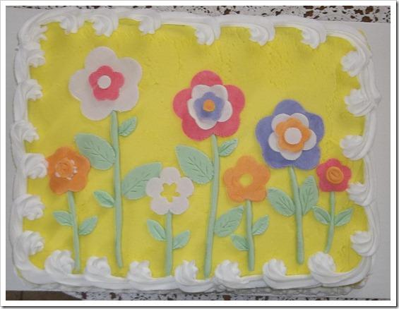 gum paste flower cake 014