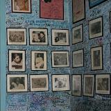 ses murs de photos...