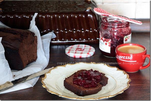 pain d'epices au chocolat -piernik David Lebovitz