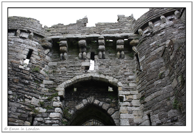 Entrance to Beaumaris Castle - the Gate Next to the Sea
