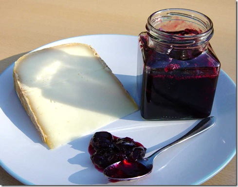 Cherry Jam and Cheese