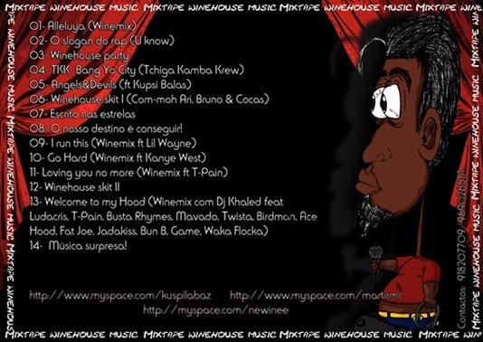 newine - Mixtape winehouse music back