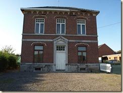 Opheers, Opheersstraat 96: voormalig gemeentehuis en school