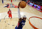 lebron james nba 130217 all star houston 40 game 2013 NBA All Star: LeBron Sets 3 pointer Mark, but West Wins