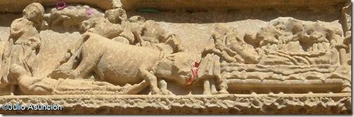 El martirio y enterramiento de San Saturnino - Artajona - Navarra