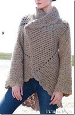 casaco redondo inverno