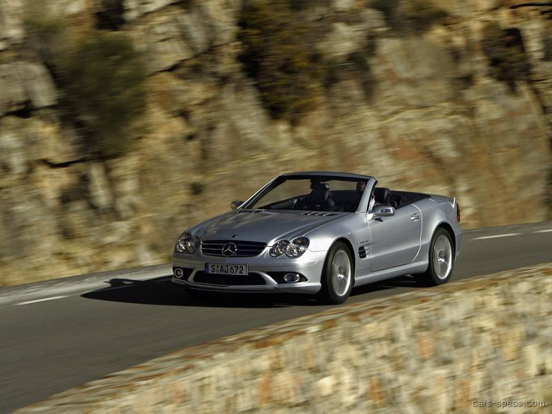 2007 mercedes benz sl class sl55 amg specifications for Mercedes benz sl55 amg specs