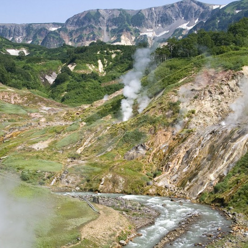 Valley of Geysers in Kamchatka, Russia