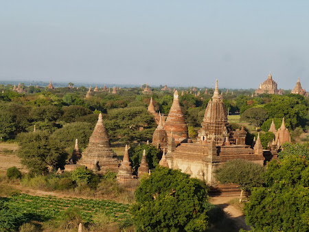 Obiective turistice Myanmar: Temple Bagan