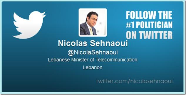 Sehnaoui twitter profile