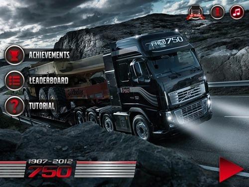 Juego de camiones Volvo FH16 750 Android iOS