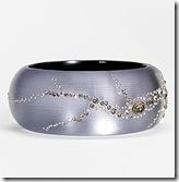 Alexis Bittar Lavender Dust Hinged Bracelet
