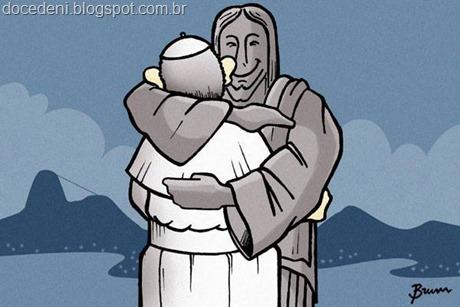 Papa e o Cristo