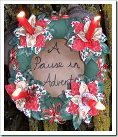 Pause in Advent Logo from Floss