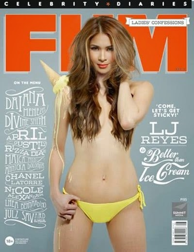 LJ Reyes - FHM Ladies' Confessions Celebrity Diaries Vol. 8