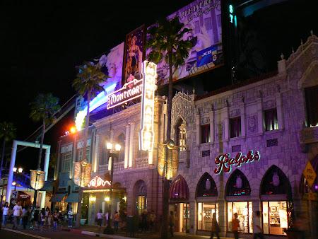 Imagini Japonia: Universal Studios Osaka noaptea