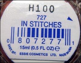 Essie In Stitches
