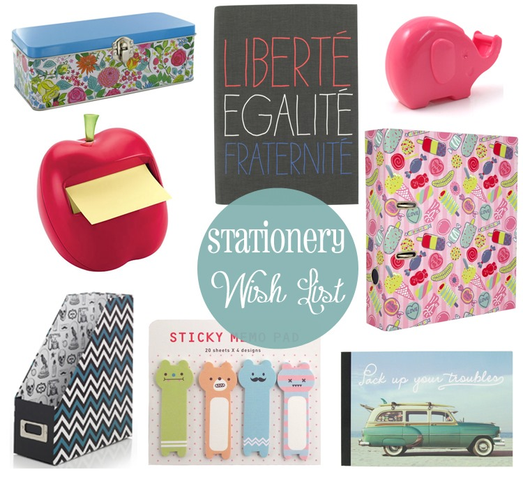 Stationery-Wish-List