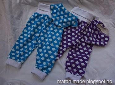 babybukser med kløver